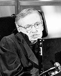 70-летний Хокинг страдает боковым амиотрофическим склерозом. Возможно, «Высший замысел» – последняя его книга (фото: Reuters)