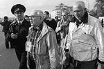 Уполномоченный по правам человека в РФ Владимир Лукин и телеведущий Николай Сванидзе во время акции «Марш миллионов» на Болотной площади