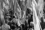 На митинге ОНФ были замечены флаги Евразийского союза молодежи