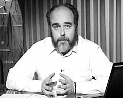 Психотерапевт Марк Сандомирский (Фото: кадр из выложенного в сети видео)