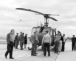 В 2001 году США подарили Грузии 6 подержанных «ирокезов» и подготовили летчиков. (фото: ИТАР-ТАСС)