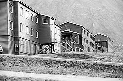 Гостевые домики норвежского отеля на Шпицбергене (фото: ИТАР-ТАСС)