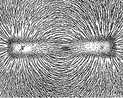Магнитное взаимодействие (фото: wikipedia.org)