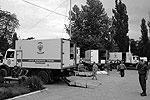 Тут же ФМБА развернули мобильные госпитали (фото: Максим Мищенко / twitter.com/tagan77)