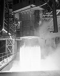 Двигатель ракеты-носителя «Русь-М» (фото: nasa.gov)