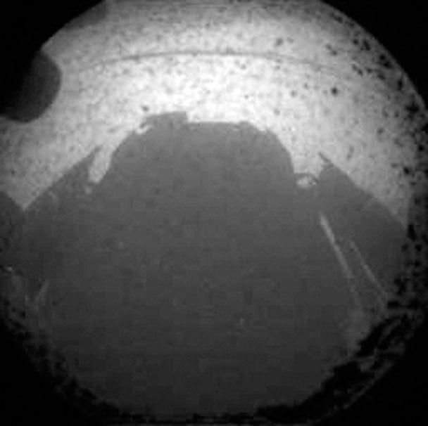 второй кадр с марсохода