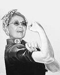 Такие коллажи рисуют на Розанну Барр (Партия мира и свободы) (фото: roseanneforpresident2012.org)