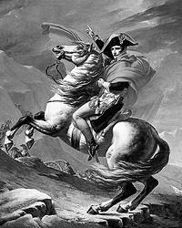В манифесте Наполеона назвали не антихристом, а  лжемессией (Фото: Жак Луи Давид)