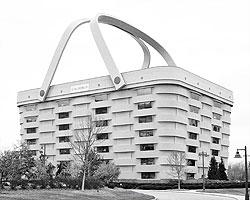 Штаб-квартира в форме корзины лидера по изготовлению корзин в Америке компании Longaberger (фото: Derek Jensen/wikipedia.org)