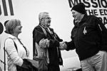 Родители Феликса Баумгартнера и обладатель нынешнего рекорда, установленного в 1960 году, капитан Джозеф Киттингер (фото: redbullstratos.com)