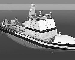 Дизель-электрический ледокол мощностью 25 МВт будет построен на Балтийском заводе(фото: wikipedia.org)