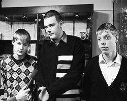 Максим Мурашов, Андрей Березин и Тимур Начкевия (фото: 66.mvd.ru)
