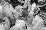 Во Львове, как и по всей Западной Украине, Рождество 7 января празднуют униаты, представители Греко-католической церкви – это единственные католики, которые тоже отмечают этот праздник по Юлианскому календарю, как и РПЦ (фото: Reuters)