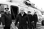 Глава государства пообещал решить все оставшиеся проблемы жителей города. В ближайшее время он намерен также провести в Москве совещание по защите города от стихийных бедствий (фото: ИТАР-ТАСС)
