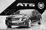 Компактный люксовый седан Cadillac ATS от General Motors назван автомобилем года в классе легковых машин (фото: ИТАР-ТАСС)