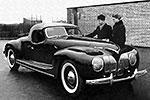 Спортивный автомобиль ЗИС 101А Спорт 1939 года. Создавался также молодыми инженерами на заводе ЗИС. Максимальная скорость 162 км/ч (фото: Валентин Ростков для ЗиС)