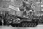 Участие в параде принял советский танк периода Великой Отечественной войны Т-34 (фото: ИТАР-ТАСС)