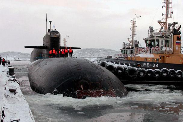 гаджиево северный флот подводные лодки
