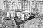 Типовой проект школы на 550 мест на улице 8 Марта (фото: mka.mos.ru)