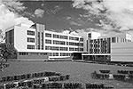 Москомархитектура разработала новые типовые проекты для строительства детских садов и школ. На этом рисунке – типовой проект школы на 400 мест на улице Правды (фото: mka.mos.ru)