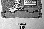 """Известно, что эта карикатура была нарисована немецкой художницей Катериной Греве еще в 2011 году, потом картинка долго где-то лежала и затем «пророческим образом» оказалась в календаре с датой 10 февраля 2013 года, притом что уже 11 февраля Папа действительно объявил об отставке <a href = """"http://www.vz.ru/news/2013/2/13/620173.html"""" target = """"_blank"""">Подробности</a>(фото: espresso-verlag.de)"""