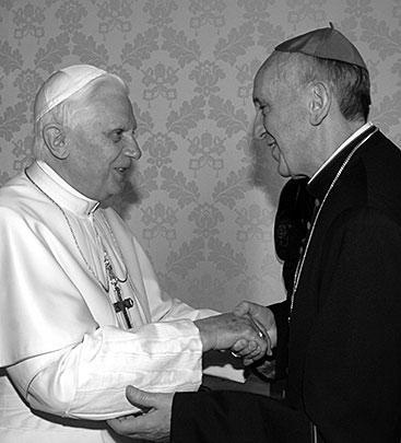 13 января 2007 года архиепископ Буэнос-Айреса встретился с Папой Бенедиктом XVI в Ватикане