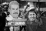 По данным Национального избирательного совета, Мадуро, являвшийся официальным преемником покойного Уго Чавеса, смог получить поддержку 50,66% избирателей (фото: Reuters)