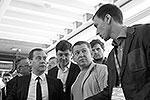 Также премьер побывал в павильоне, где специалисты обсуждали вопросы, связанные с различными направлениями в медицине, в частности, борьбу с болезнью Альцгеймера и проблемы старения человеческого организма (фото: ИТАР-ТАСС)