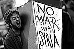 Другие призывали не воевать с Сирией (фото: Reuters)