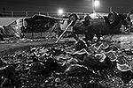 Погром на овощебазе в Бирюлево: все залито арбузным и томатным соком (фото: ИТАР-ТАСС)