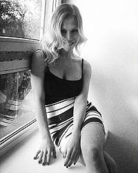 Девушка, по отношению к которой применил физическую силу российский хоккеист Семен Варламов, оказалась моделью из Самары Евгенией Вавринюк (фото: с личной страницы vk.com)