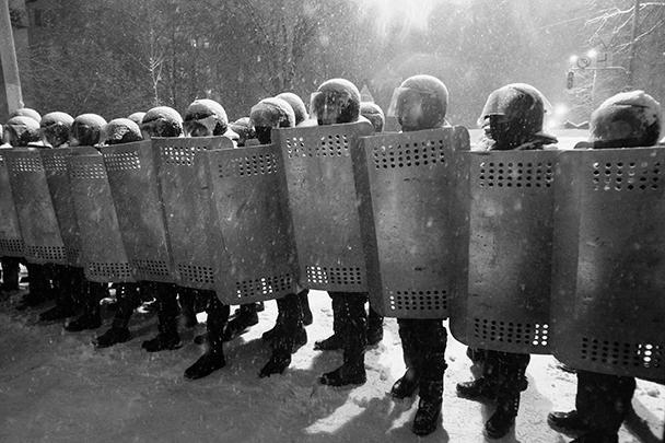 В зачистке участвовало около 400 военнослужащих внутренних войск и «Беркута»
