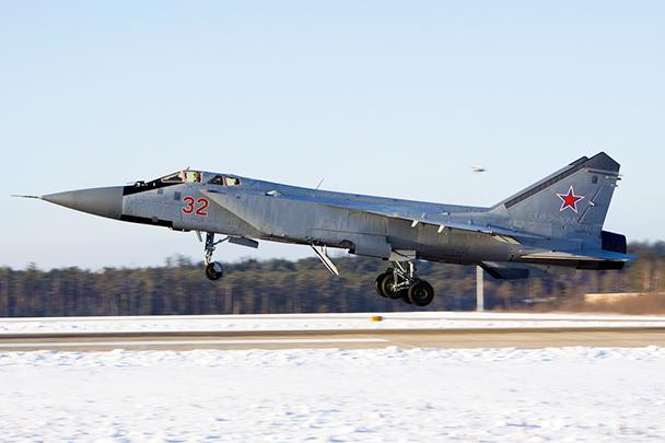 Внебе Астраханской области сегодня пройдут боевые стрельбы МиГ-31