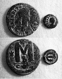Византийские бронзовые монеты, правление Анастасия I, 498—518