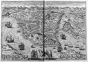 Константинополь (Georg Braun; Frans Hogenberg: Civitates Orbis Terrarum, Band 1, 1572)