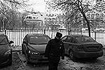"""Около здания школы на всякий случай садился вертолет МЧС (фото: РИА """"Новости"""")"""
