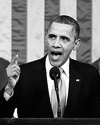 Практически на всех этапах своей политической карьеры Обама демонстрировал одну исключительно важную черту: он очень умело подбирает себе в помощники и спичрайтеры эксклюзивно талантливых людей (фото: EPA/ИТАР-ТАСС)