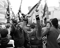 Сирийские  оппозиционные боевики (Фото: Reuters)