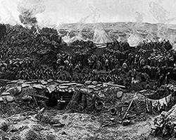 Панорама «Оборона Севастополя 1854—1855 гг.» Франц Рубо, 1904