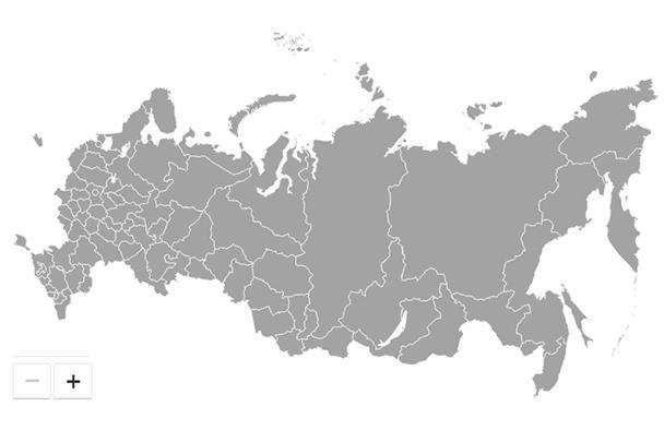 На сайте Кремля обновилась карта новостей, к очертаниям границ Российской Федерации прибавился полуостров Крым