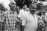 Проститься с Маркесом пришли члены его семьи, близкие и друзья (фото: Reuters)