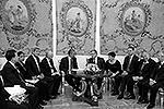 Официальная встреча Обамы и Коморовского (фото: Reuters)