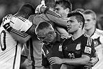 Игроки сборной Аргентины не скрывали своего разочарования. Для многих в этой стране даже участие своей команды в финале чемпионата мира, но без победы, равносильно общему поражению   (фото: Reuters)
