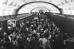 Сначала утром во вторник поступила информация о задымлении в одном из составов московского метро, который находился между станциями «Славянский бульвар» и «Парк Победы» (фото: ИТАР-ТАСС)