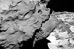 Первые фото кометы Чурюмова – Герасименко, сделанные с европейского космического корабля (фото: EPA/ИТАР-ТАСС)