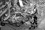Не менее разрушительными оказались и последствия взрыва бытового газа в польском городе Катовице (фото: Andrzej Grygiel/EPA/ТАСС)