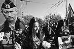 Шествие в День народного единства на одной из улиц города Севастополя (фото: Алексей Павлишак/ТАСС )