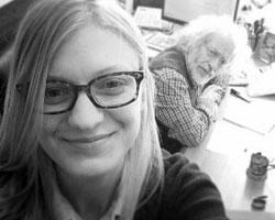 Леся Рябченко хочет написать журналистам кодекс чести (Фото: jourdom.ru)