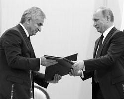 Россия и Абхазия: маленький договор с большими перспективами (Фото: Михаил Метцель/ТАСС)
