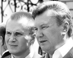 Экс-президент Украины Виктор Янукович с сыном Александром (Фото: Reuters)